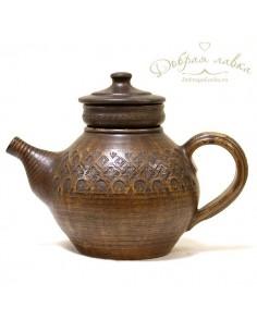 Большой чайник для заваривания трав 1,5 л