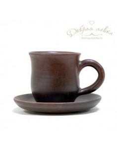 Чайная пара из глины 0,3л