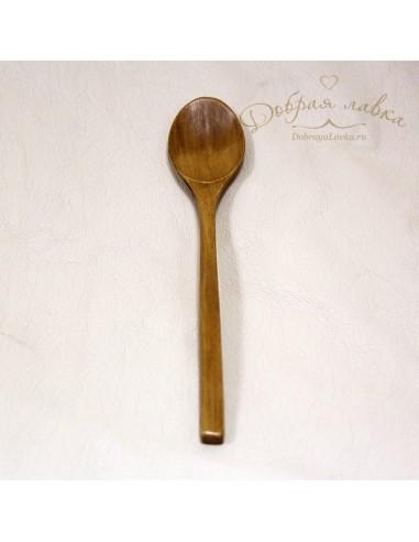 Десертная ложка с длинной ручкой, клен, 23 см