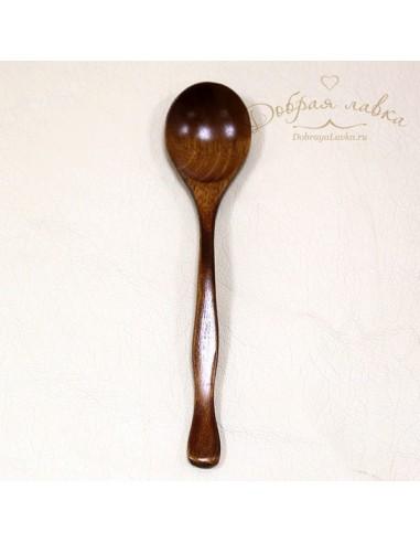 Маленькая деревянная ложка, клен, 18 см