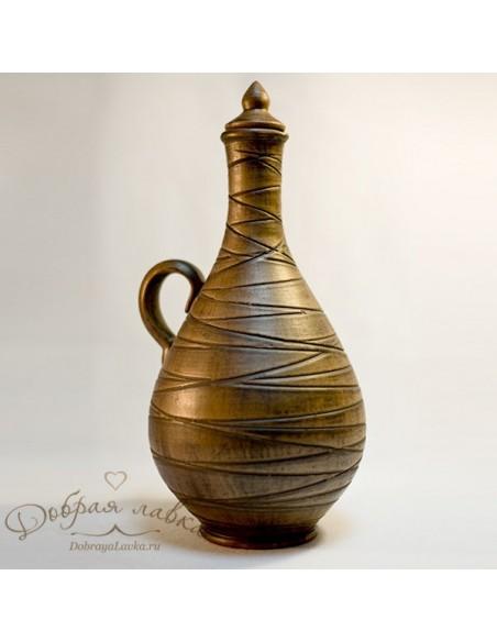 Глиняная бутылка 1,3 л
