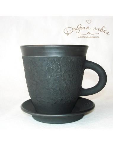 Черная чайная пара 0,3 л
