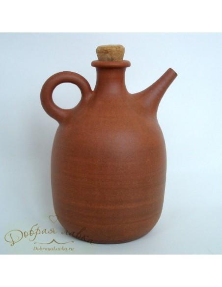 Керамическая бутылочка под масло 0,5л