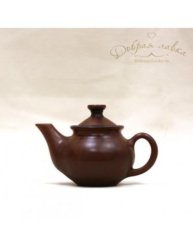 Глиняный чайник «Домашний» 0,5 л