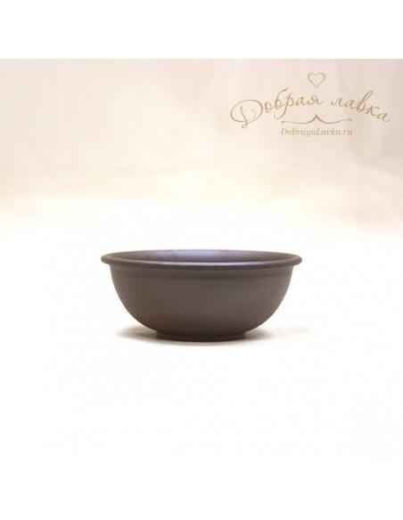 Глиняная тарелка «Купеческая» 17 см