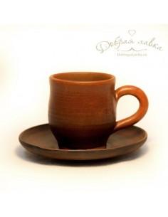 Чайная пара из глины 0,2 л